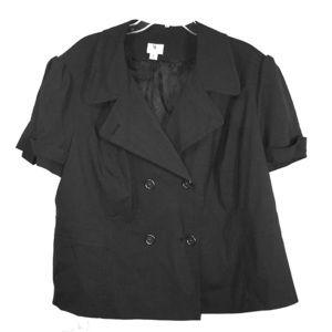 NWOT WORTHINGTON short sleeve blazer XXXL
